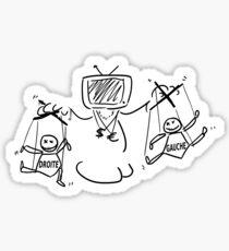 Ptilouk.net - Le peuple est souverain Sticker