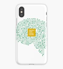 protect your human nature iPhone Case