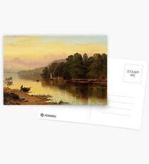 George Vicat Cole - A River in Wales Postcards