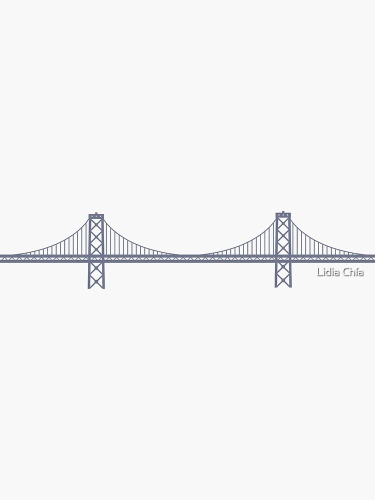 The Bay Bridge by lidiachia
