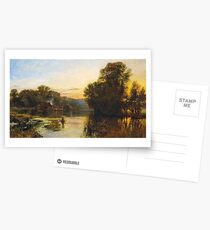George Vicat Cole - Pangbourne  Postcards