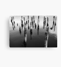 Staggered Canvas Print