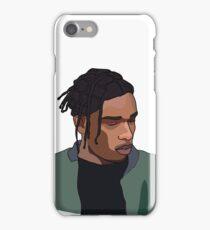 Asap Rocky Illustration iPhone Case/Skin