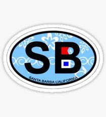 Santa Barbara. Sticker