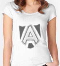 Team Alliance Dota 2 Women's Fitted Scoop T-Shirt