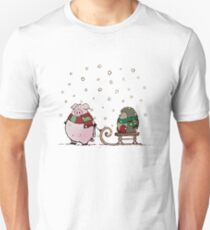 Winter fun Unisex T-Shirt