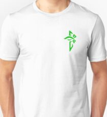 Ingress Enlightened Logo over left Breast - Green Unisex T-Shirt