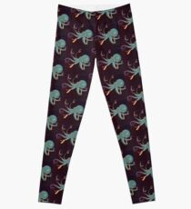Aqua Octopus Leggings