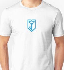 Ingress Resistance Logo - Blue Unisex T-Shirt