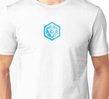 Ingress Game Logo - Blue (Resistance) Unisex T-Shirt