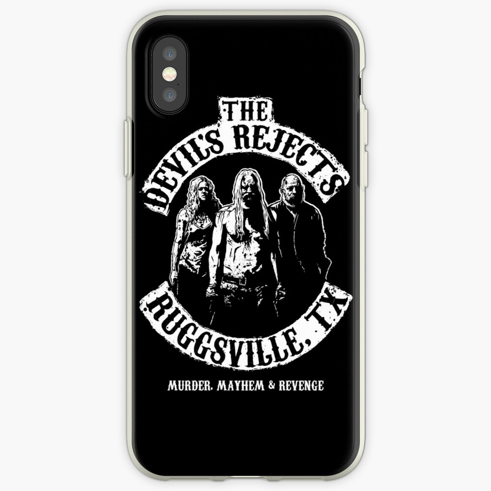 Devils Rejects, Ruggsvile, TX iPhone Cases & Covers
