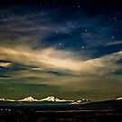 Moonlight over the Mountains by Richard Bozarth