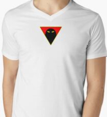 Space Ghost - Chest Symbol - White Clean Men's V-Neck T-Shirt
