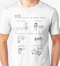 Ptilouk.net - Scie Unisex T-Shirt