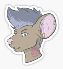 Rat attack! Sticker