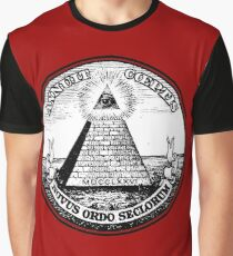 New World Order on One Dolar  Graphic T-Shirt