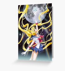 Sailor Moon Usagi Crystal Greeting Card