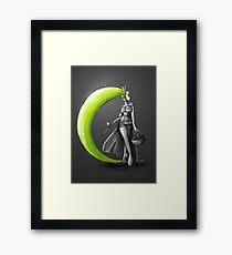 Rainbow Punk: Electrolime Grenade Framed Print