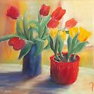 longing for spring - tulip by Jens-Uwe Friedrich