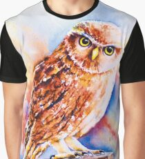 Little Owl Graphic T-Shirt