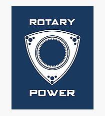 Rotary Power Photographic Print