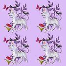 White Fantasy Unicorn  by Delights
