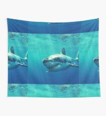 GREAT WHITE SHARK 1 Wall Tapestry