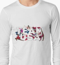 TEAM USA Langarmshirt