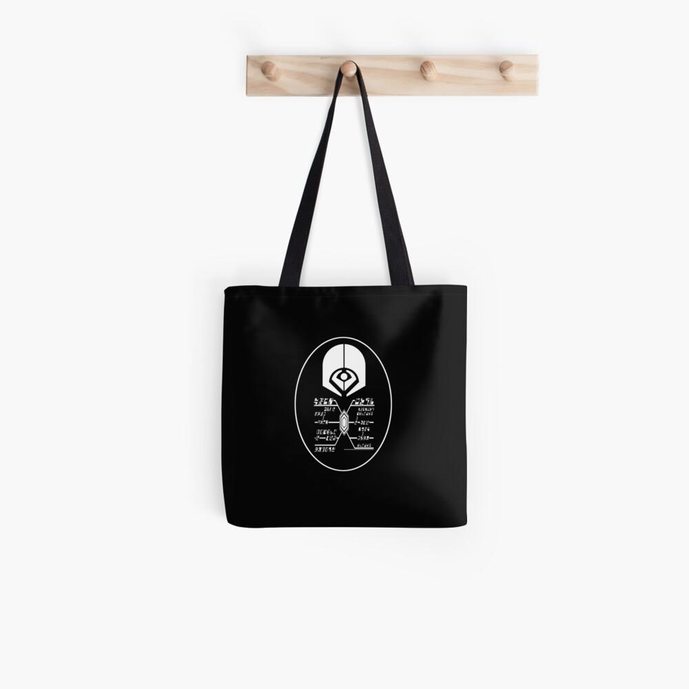 Star Trek - Ferengi Oval Badge - White Clean Tote Bag
