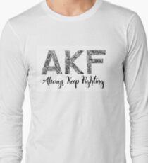 AKF Always Keep Fighting Long Sleeve T-Shirt