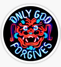 Only God Forgives Fan T-shirt Sticker