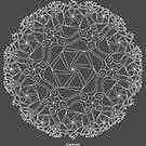 Capricorn [white design] by TheMandalaLady