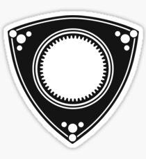 Rotary engine design Sticker
