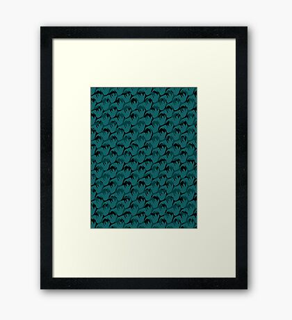 Abstract Pattern 1 Framed Print