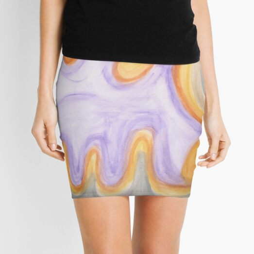 intimate swirl Mini Skirt