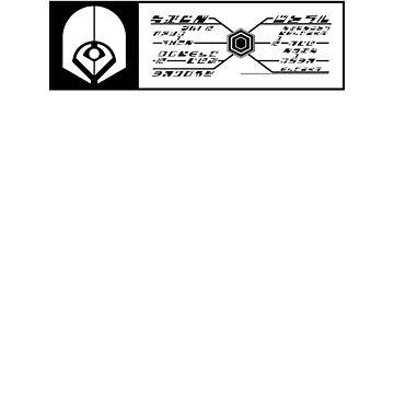 Star Trek - Ferengi Rectangular Badge - Black Clean by garudoh