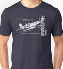 F4U Corsair Fighter Bomber Unisex T-Shirt