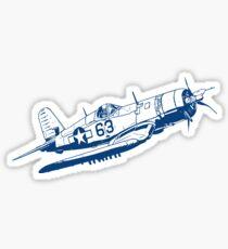 F4U Corsair Fighter Bomber Sticker