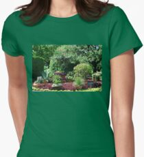 Desert Garden Womens Fitted T-Shirt