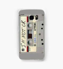 im not ok casette vertical Samsung Galaxy Case/Skin