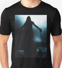 celtic goddess morrigan crow raven rain water woman animal mythical T-Shirt