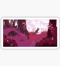 The Pink Velvet Forest Sticker