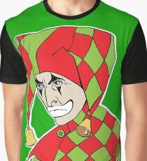 Sad Arlequin Graphic T-Shirt