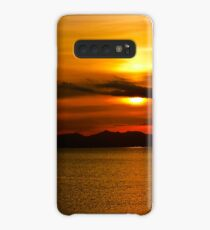 Sunset - Isle of Arran from Ayr Case/Skin for Samsung Galaxy