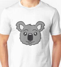 head koala face sweet cute Unisex T-Shirt