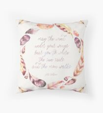 The Wind Under Your Wings Throw Pillow