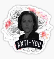 Queen Scully Sticker
