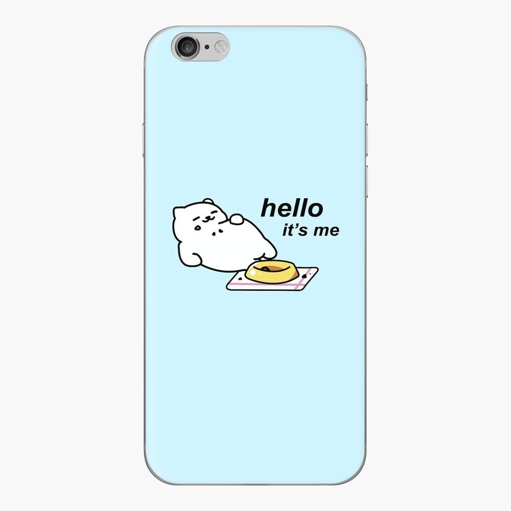 Neko Atsume - Tubbs (hallo ... sein ich) iPhone Klebefolie