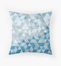 Isometric Winter Throw Pillow