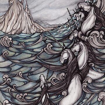 Unicornios en el mar de jessicagadra